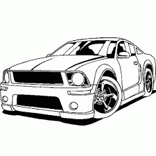 Sports Car Coloringes Printable Kids Colouring Free For Adults