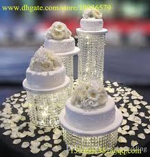 wedding cupcake stands. Unique Stands Round Wedding Cupcake Stand Acrylic Crystal Bead Cascade Waterfall  Set Of 4 Dessert Towers Decor Ideas Pictures Decoration  And Stands