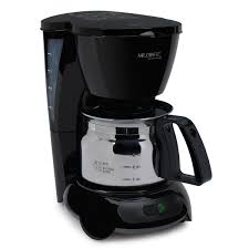 3.8 out of 5 stars, based on 95 reviews 95 ratings current price $36.99 $ 36. Mr Coffee 4 Cup Coffeemaker Black With Stainless Steel Carafe Tf5 080 Sunbeam Hospitality
