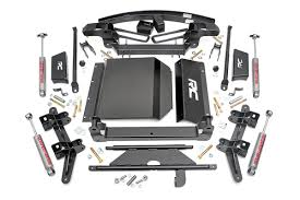 All Chevy 97 chevy k1500 parts : 6in Suspension Lift Kit for 88-98 Chevy / GMC 4wd 1500 Pickup/SUV ...