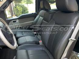 2005 f150 seat covers ford f single tone dark brown leather interior 2005 f150 seat covers