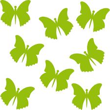 Schmetterling Falter Butterfly Auto Fenster Tür Wand Aufkleber