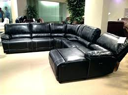 sectional couch black black leather sectional couch black leather couch black leather sectional sofa with recliner astonishing home design black leather