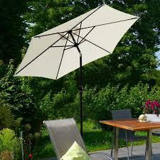 outsunny 9 patio umbrella with crank