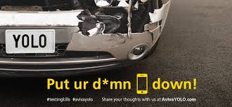 aviva canada launches avivayolo campaign to stop texting and driving