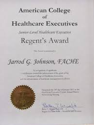 ache recognizes sr vp of operations jarrod johnson ache is also known for its journal the journal of healthcare management and magazine healthcare executive as well as groundbreaking research and career
