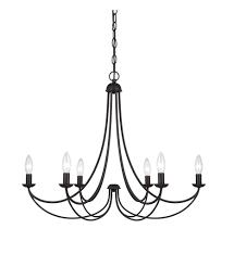 quoizel mrn5006ib mirren imperial bronze 6 light chandelier