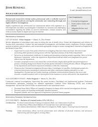 Resume Templates Charminglice Officer Template With Additional