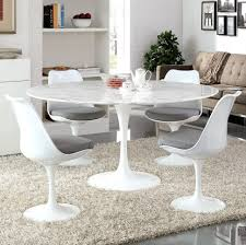 Large Round Stone Top Dining Table Table Designs