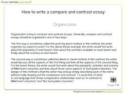 Compare And Contrast Essay Sample College Examples Of Comparison Essays Dew Drops