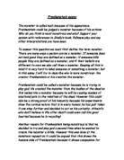 frankenstein essay gcse english marked by teachers com frankenstein essay