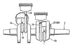 honda v4 engine unequal cylinder spacing and cylinder honda v4 connecting rods for unequally spaced cylinders