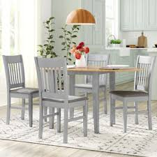Charming Bouvet Extendable Dining Set With 4 Chairs