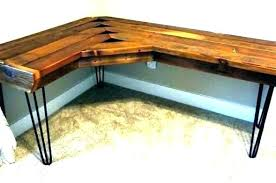 diy outdoor wood table plans free wooden furniture garden bench computer desk architectures remarkable reclaimed side