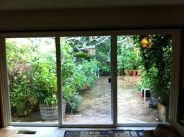 3 panel sliding glass door innovative 3 door patio doors chic three panel sliding patio door