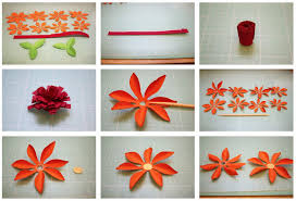 How To Make Flower With Paper Folding Bits Of Paper Mum 3d Paper Flowers All About Quilling Technique