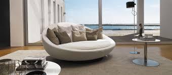 desiree furniture. Round Sofa / Contemporary Leather Fabric Desiree Furniture
