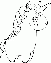 Each page is 8.5 x 11 so all you need is regular, us letter size copy paper to print your coloring pages. Cute Unicorn Coloring Pages Coloring Home
