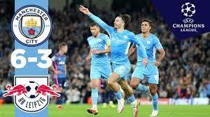 Man City Highlights! | Man City 6-3 RB Leipzig | Ake, Mahrez, Grealish,  Cancelo, Jesus Goals! - YouTube