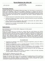Nurse Manager Resume Inspiration Nurse Manager Resume Sample Kaniwebpaco