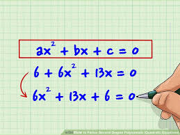 image titled factor second degree polynomials quadratic equations step 1
