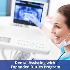 Dental Assisting with Expanded Duties Program – DDCI