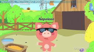 protagonist in animal farm video lesson transcript com