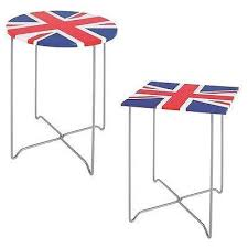 british flag furniture. Union Jack British Flag Side/End Tables. Patriotic Furniture. Furniture L
