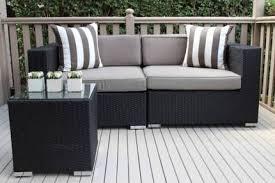 wicker lounge setting stunning european styling brand new
