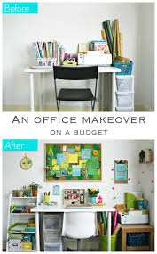finished office makeover. An Office Makeover On A Budget Finished