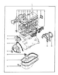genuine hyundai seal oil 1985 hyundai excel engine overhaul gasket set diagram 2020211