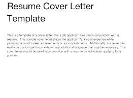 Writing A Professional Cover Letter For A Resume General Cover Letter Sample Sample Generic Cover Letter General