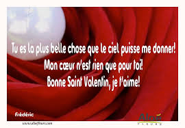 Citations Damour Et Saint Valentin Tu Es La Plus Belle Chose Que