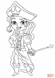 Printable Coloring Pages pirate coloring pages free : jake-and-the-neverland-pirates-pirate-princess-coloring-page.jpg ...
