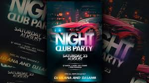 How To Design A Flyer In Photoshop Nightclub Party Flyer Photoshop Tutorial Party Flyer
