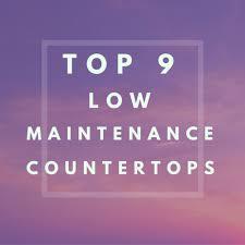 9 low maintenance countertops