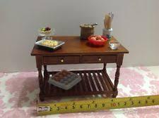 dollhouse miniature furniture. dollhouse miniature furniture kitchenbakingworking wood table 112 no items miniature e