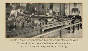 nikola tesla alternating current. ( august 1895 ) the edward dean adams power plant goes operational nikola tesla alternating current .