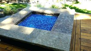 round fire pit glass guard rocks stones blue home improvement exciting is the best