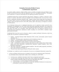 Confidentiality Agreement Form Free Word Pdf Documents On ...