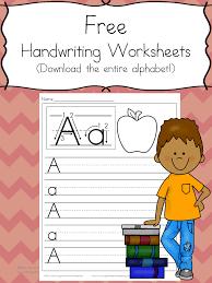 Preschool Handwriting Worksheets - Free practice pages ...