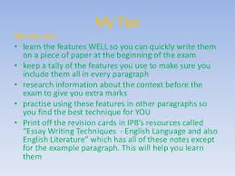 writing essay techniques english  possible 7 my tipsmy tips
