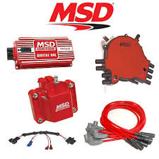 msd ignition kit digital al distributor wires coil harness  msd 9032 ignition kit digital 6al distributor wires coil 92 94 corvette