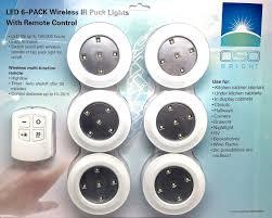 closet lighting wireless. Homemates Wireless Led Puck Lights With Remote Closet Lighting O