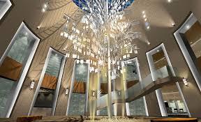 creative lighting design. Art Museum Interior Creative Lighting Design Rendering