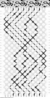 Friendship Bracelets Net Pattern