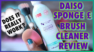 daiso sponge brush cleaner review does it really work