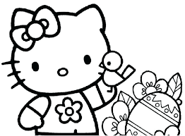 Free Printable Hello Kitty Coloring Pages Special Offer Coloring