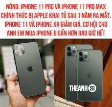 APPLE TUYÊN BỐ KHAI TỬ IPHONE 11 PRO VÀ... - Theanh28 Entertainment