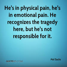 Mel Sachs Quotes QuoteHD Amazing Emotional Pain Quotes